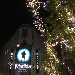 Matilda the musical, theatre